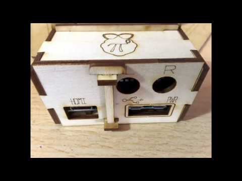Diy wooden case for Pi zero W and Hifiberry DAC  ZERO Hat
