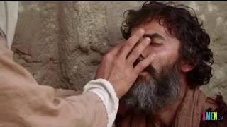 Chúa Giê-su chữa một người mù từ thuở mới sinh