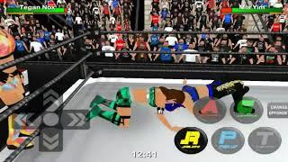 WR3D 2K19 NXT UK TONI STORM AND MIA YIM VS DAKOTA KAI AND TEGAN NOX.