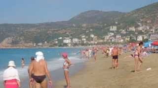 Alanya Kleopatra (Cleopatra) Beach, Perfect Sand, Turkey (Full HD)