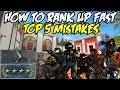 CS:GO HOW TO RANK UP FAST! ( TOP 5 SILVER/GOLD NOVA MISTAKES)