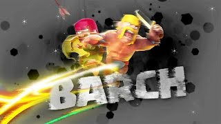Clash of Clans Art Barch Attack Strategy HD Wallpaper Background Art Drawing
