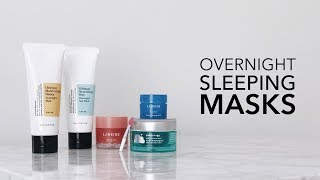 SLEEP SKINCARE | LaNeige Water Sleeping Mask, CosRx Rice and Honey Masks, Patchology Cloudmasque LvL