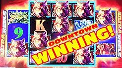 WINNING BIG IN DOWNTOWN LAS VEGAS!!