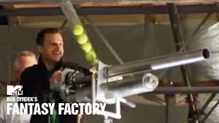 Rob's Giant Tennis Ball Shooter 🎾 Fantasy Factory