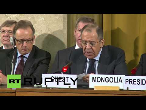 "Switzerland: ""Moscow is committed to the goal of nuclear disarmament"" - Lavrov"