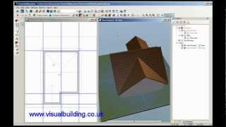 Visual Building Tutorial: How To Creat A Multi Gabled Roof