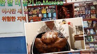 진짜 멕시카나 치킨 먹방. 멕시코에서 위험한 동네인지 …