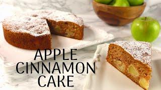 Apple Cinnamon Cake recipe  Easy Apple Cake