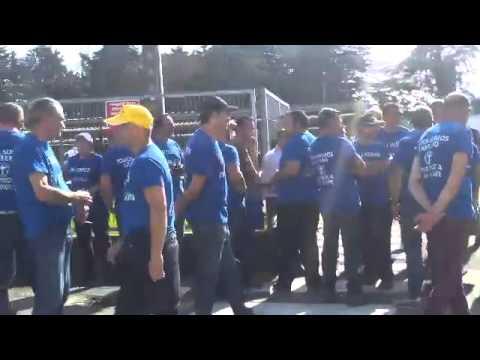 Concentración de los trabajadores de Lantero en Nestlé