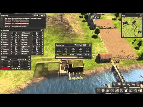 LP Banished Ep 47 - trading left and right