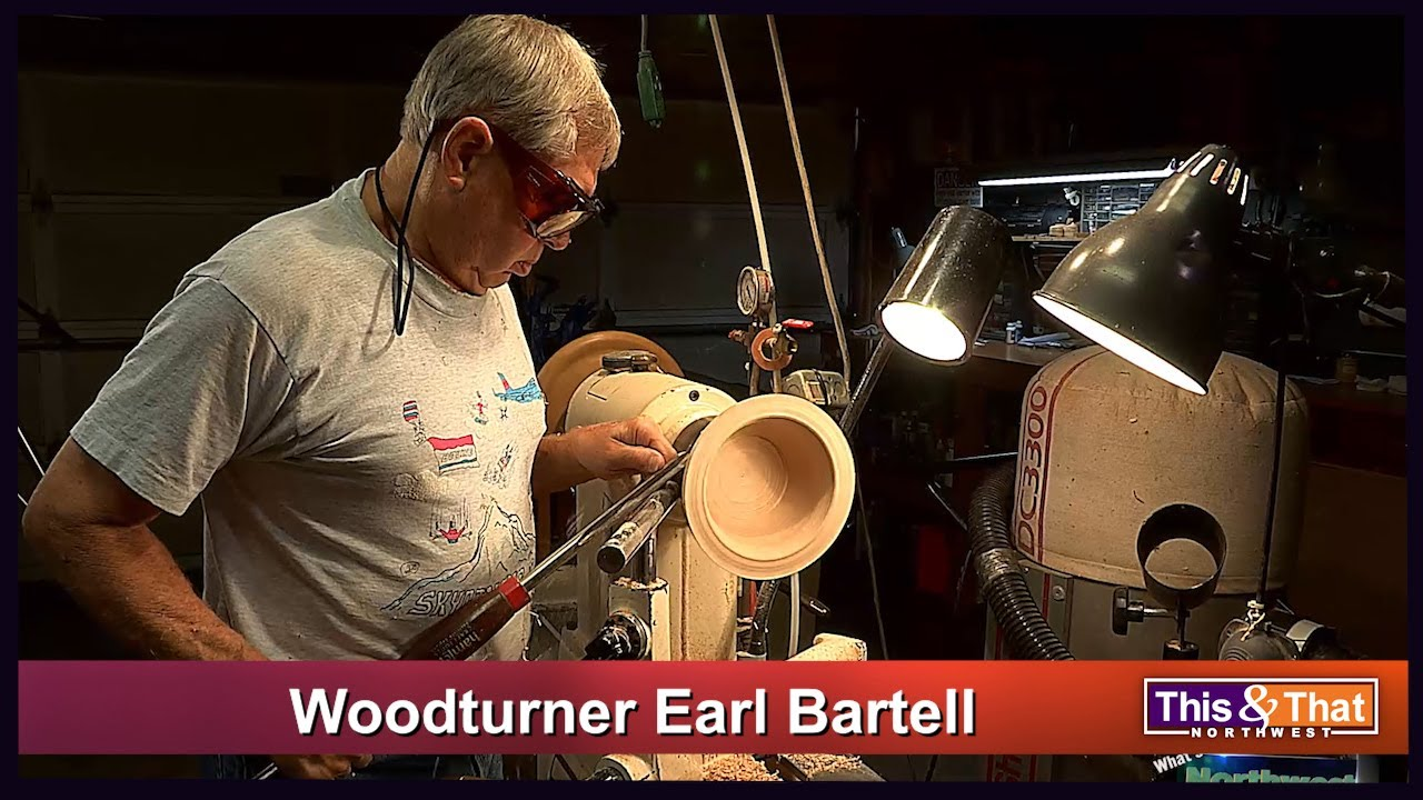 Woodturner Earl Bartell