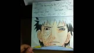 Vẽ Uchiha Obito