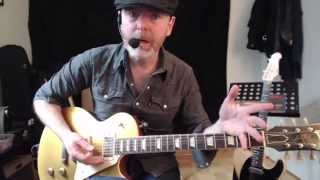 Jeff McErlain Brooklyn Blues: Billy Gibbons/David Grissom Style Open String Lick