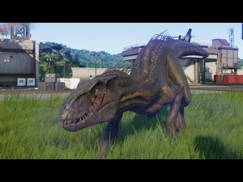 Indoraptor Escapes!!! - Jurassic World Evolution Cinematic episode 08