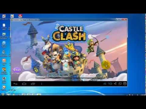 How To Install Castle Clash For PC