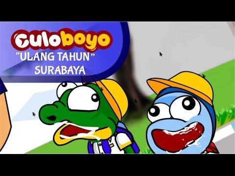 Ulang Tahun Kota Surabaya   Kartun Lucu Culoboyo