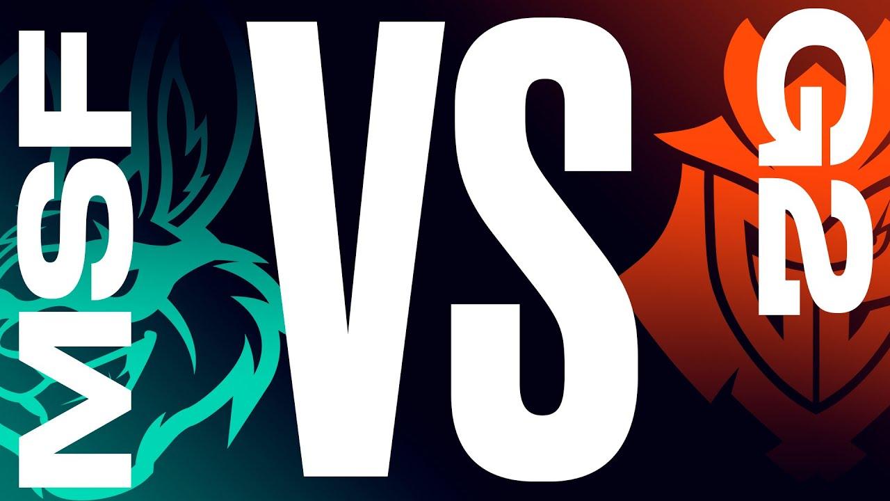 MSF vs G2 - Неделя 7 День 2 | 2021 LEC Летний сплит |  Misfits Gaming vs. G2 Esports