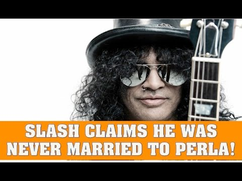 Guns N' Roses News  Slash Claims He Was Never Married to Perla Ferrar