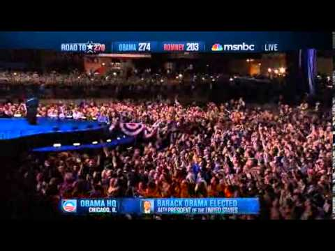 President Obama wins the Re-Election 2012
