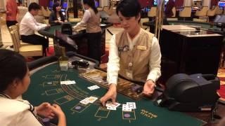 ブラックジャック Black Jack ギャラクシーマカオカジノ Galaxy Macau Casino
