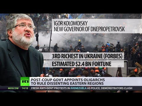 We are the 1%! Kiev gives oligarchs top jobs