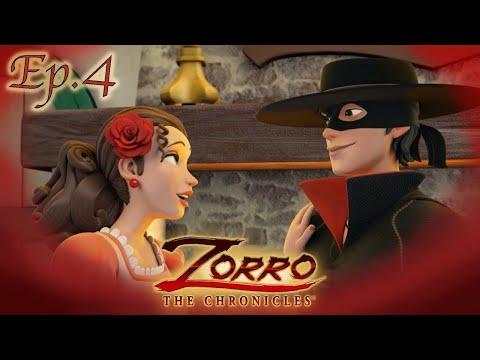 Zorro La Leggenda | Episodio 4 | UNA VECCHIA FIAMMA |Cartoni di supereroi
