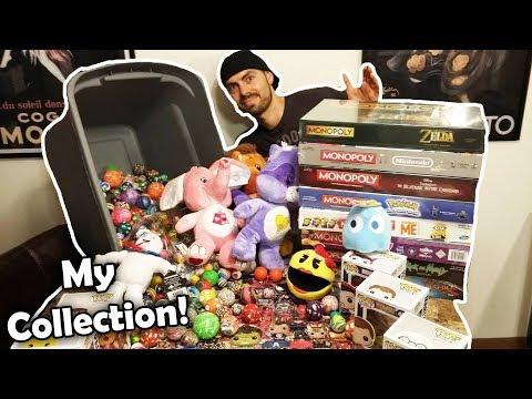 My Arcade Wins Collection! Bounce Ball Monopoly Funko Pop & Plush ArcadeJackpotPro