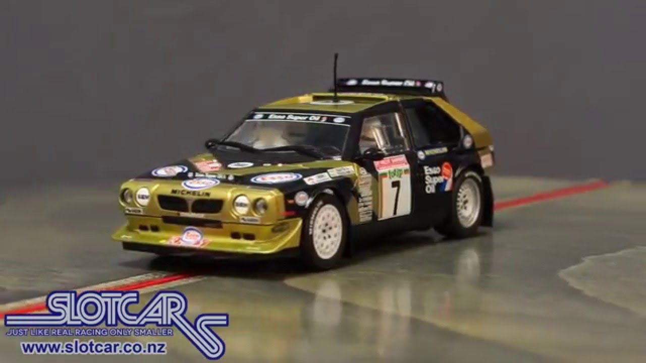 c3490 scalextric dpr slot car lancia delta s4 esso 7 rally slotcar