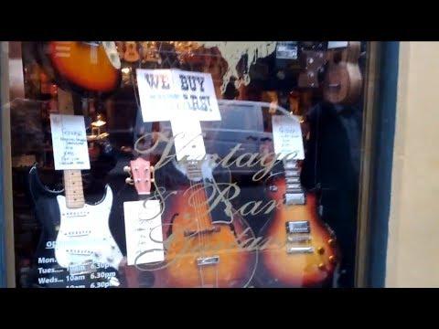 Tottenham Court Road -  Music Shop Street in London
