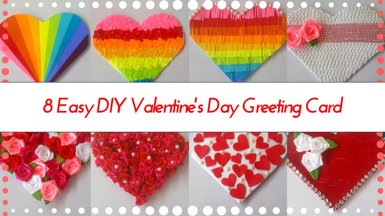 8 easy diy heart shaped greeting card designs for valentines day 8 easy diy heart shaped greeting card designs for valentines day greeting ideas by maya kalista youtube kristyandbryce Choice Image