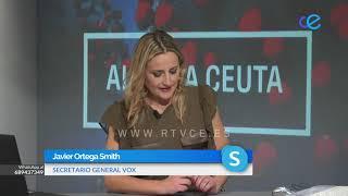 Entrevista a Javier Ortega Smith, Secretario General de Vox 12-06-2020