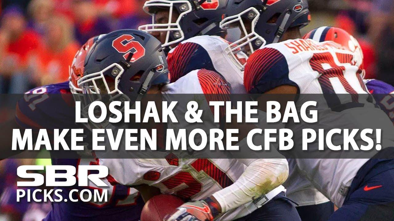 Loshak & The Bag | College Football Picks | Week 7