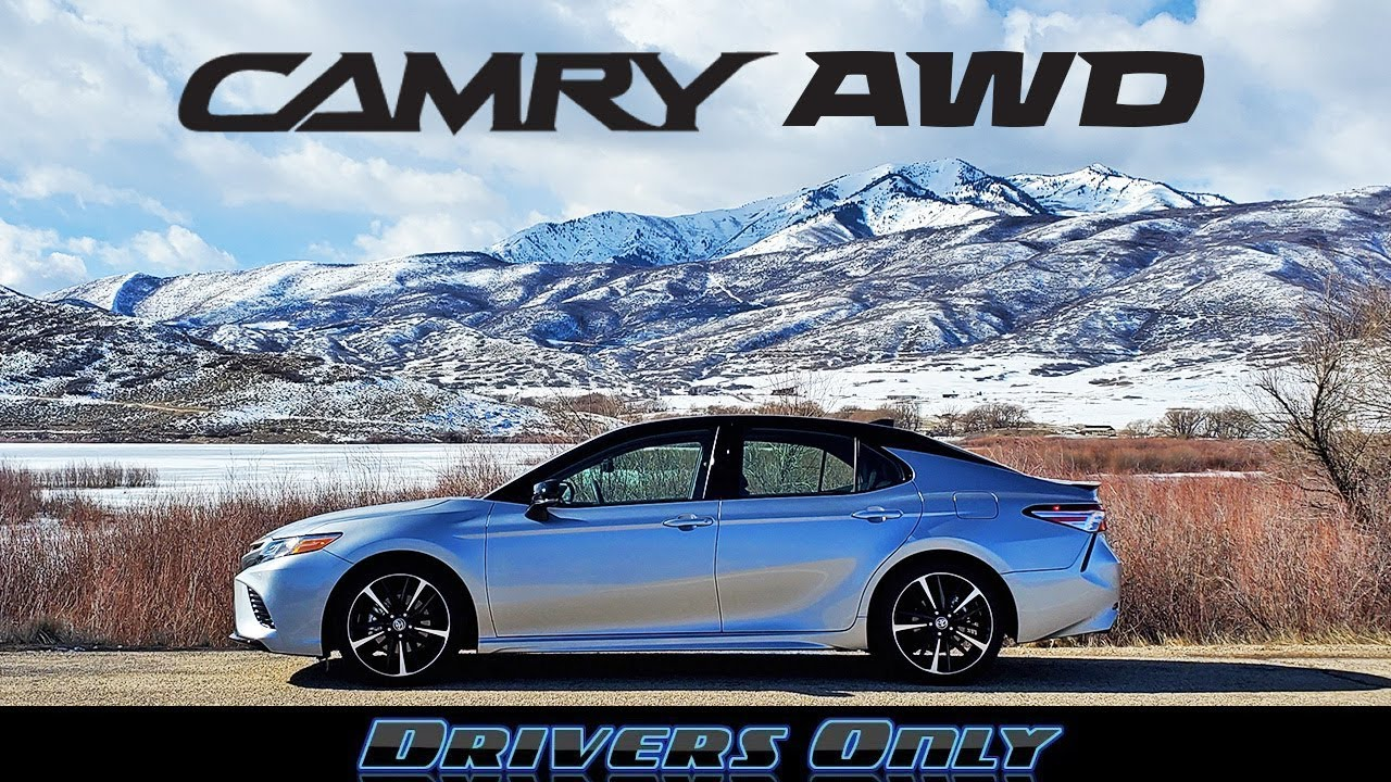 2020 Toyota Camry Awd The Awd Sedan You Ve Been Waiting For Youtube