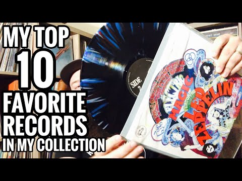 TOP 10 Favorite Records in My Collection! Blues, Psych, Rock, Reggae & Folk Vinyl Records