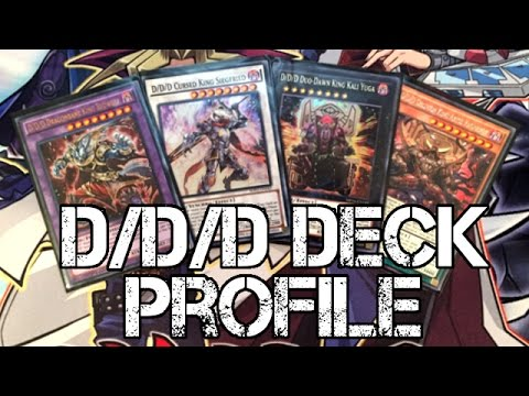 Yugioh D/D/D Deck Profile - Fusion, Synchro, Xyz, & Pendulum Summon! New Structure Deck Cards!