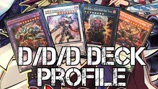 Yugioh D/D/D Deck Profile - Fusion, Synchro, Xyz, & Pendulum Summon! New Structure Deck Cards!