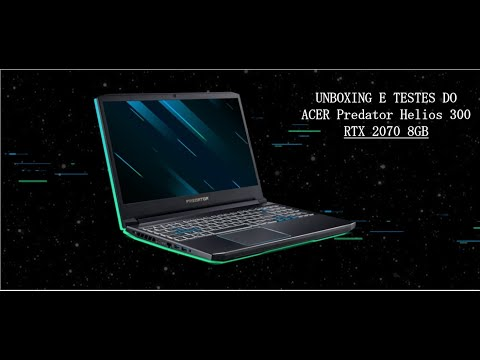 Unboxing do ACER
