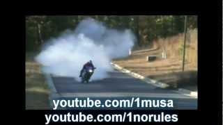bvi bike/motorcycle burnout compilation video PART 1