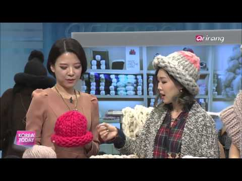 Korea Today-Look Good, Keep Warm with Knitted Products   2014 겨울모자 트렌드