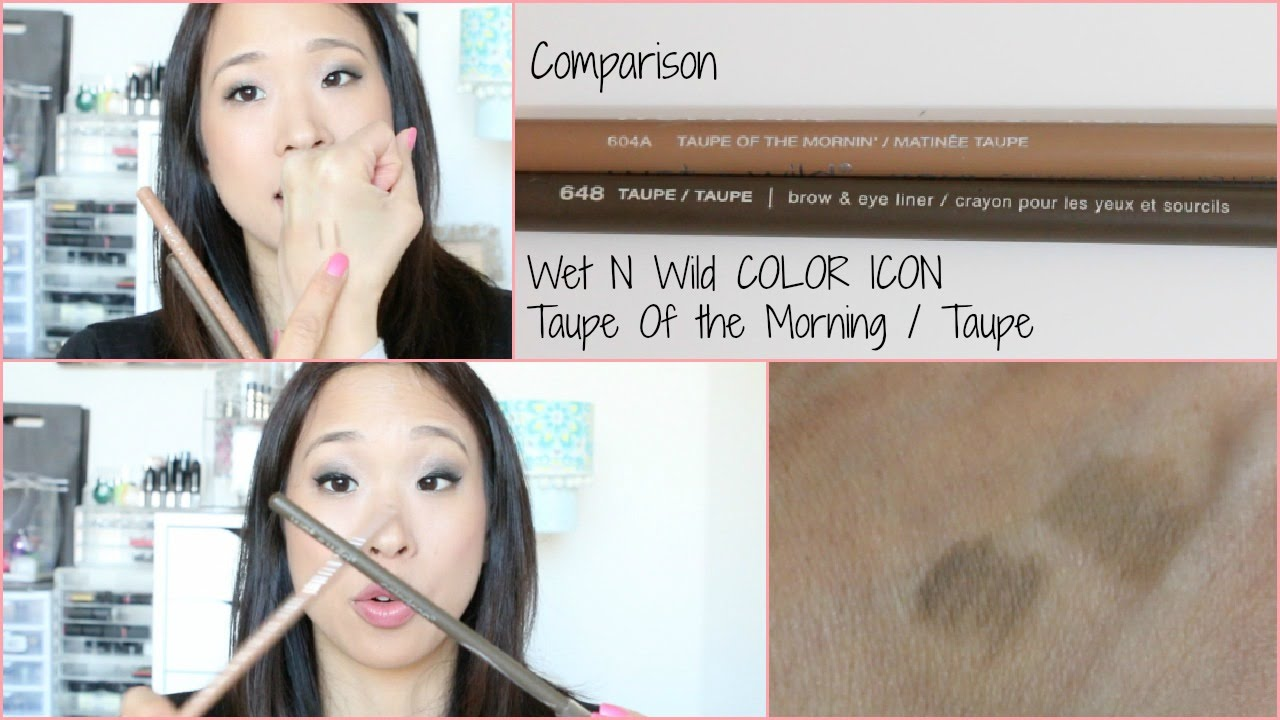 Wet N Wild Color Icon Taupe Comparison Youtube