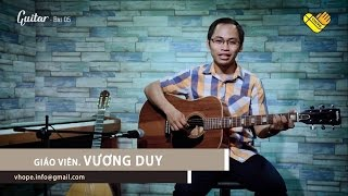 VHOPE | Guitar - Bài 5 | Hope Training