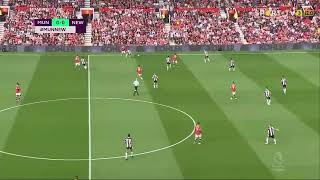 Manchester united vs Newcastle United (4-1) maç özeti