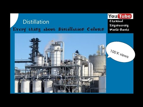 Everything about Distillation Column