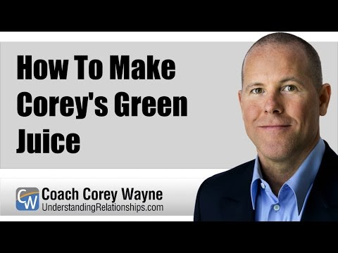How To Make Corey's Green Juice