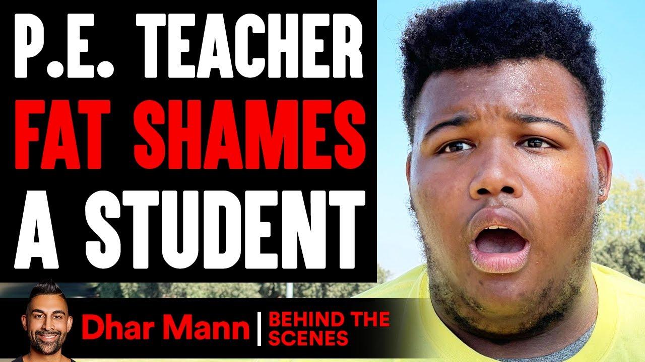 Download P.E. Teacher FAT SHAMES A Student (Behind The Scenes)   Dhar Mann Studios