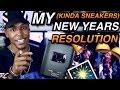 My 5 (Kinda Sneakers) New Years Resolutions #NewYearKindaNewMe