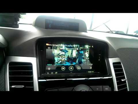 "Chevrolet Cruze + Galaxy Tab 2 7"" Tablet"