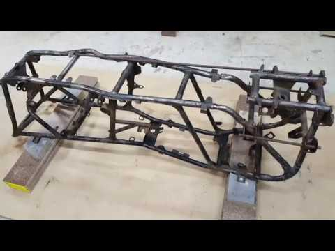 Suzuki Quad Runner 250 Frame Straightening And Repair