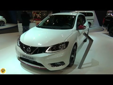 2018 nissan pulsar n line dig t 115 exterior and interior auto show brussels 2018 youtube. Black Bedroom Furniture Sets. Home Design Ideas